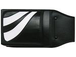 Gurttasche black and white