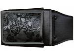 Gurttasche black rose